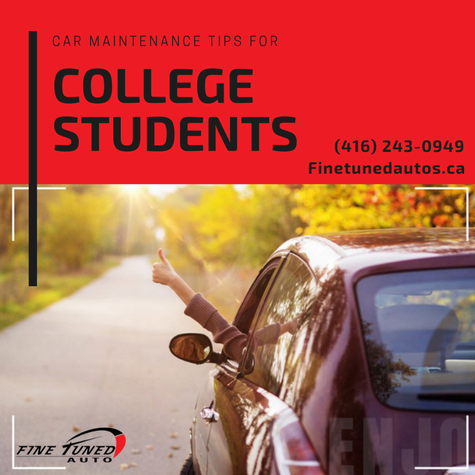 7 Car Maintenance Tips for College Students